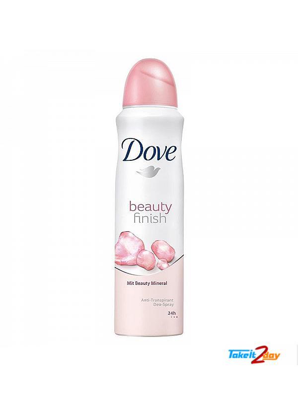 Dove Beauty Finish Deodorant Body Spray For Women 150 Ml Dobe01