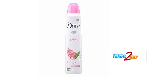 Dove Go Fresh Pomegranate & Lemon Deodorant Body Spray For Women 150 ML
