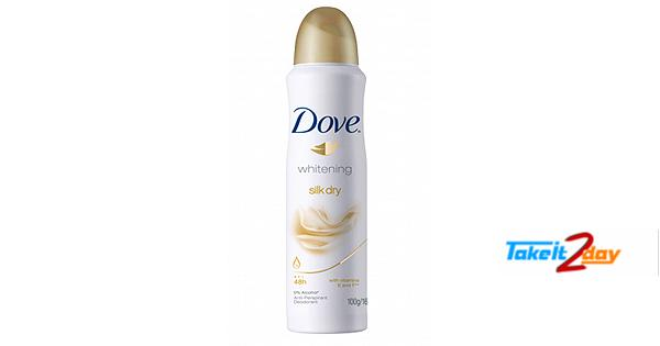 Dove Silk Dry Deodorant Body Spray For Women 169 ML