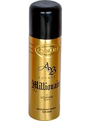 Lomani Paris AB Spirit Millionaire Deodorant Body Spray For Men 200 ML