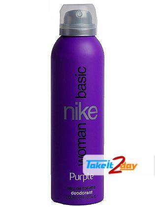 Nike Women Basic Purple Deodorant Body Spray For Women 200 ML
