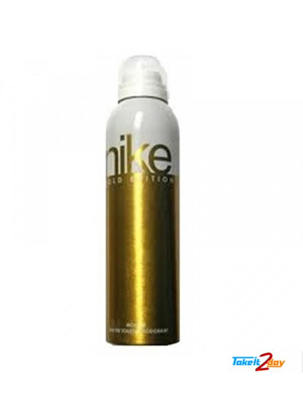 brand new aadfc 11940 Nike Gold Edition Deodorant Body Spray For Women 200 ML (NIGO01)