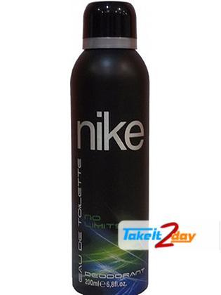 Nike No Limits Deodorant Body Spray For Men 200 ML