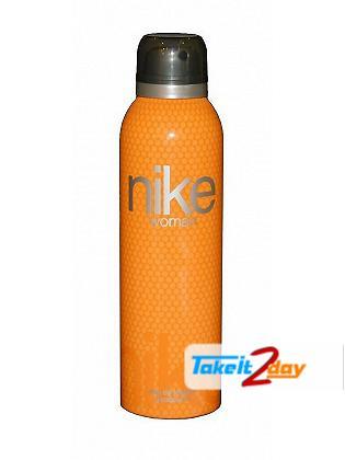 Nike Orange Deodorant Body Spray For Women 200 ML