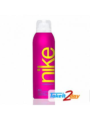 Nike Pink Deodorant Body Spray For Women 200 ML