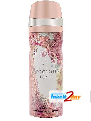 Vurv Precious Love Deodorant Body Spray For Women 200 ML By Lattafa Perfumes