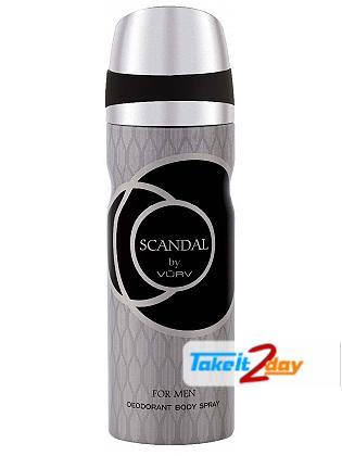 Vurv Scandal Deodorant Body Spray For Men 200 ML By Lattafa Perfumes