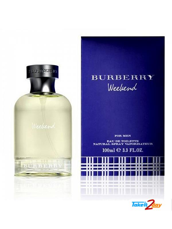Burberry Weekend Perfume For Men 100 ML EDT