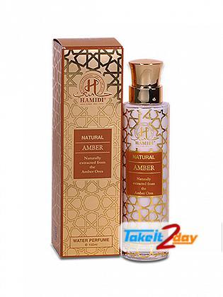 Hamidi Oud & Perfumes Natural Amber Water Perfume For Men And Women 100 ML