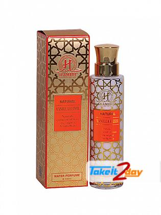 Hamidi Oud & Perfumes Natural Vanilla Elixir Water Perfume For Men And Women 100 ML