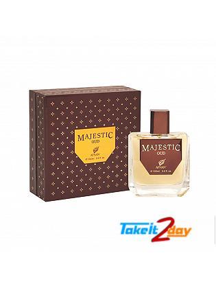 Afnan Majestic Oud Perfume For Men 100 ML EDP