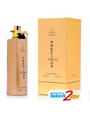 Afnan Precious Gold Perfume For Men And Women 100 ML EDP