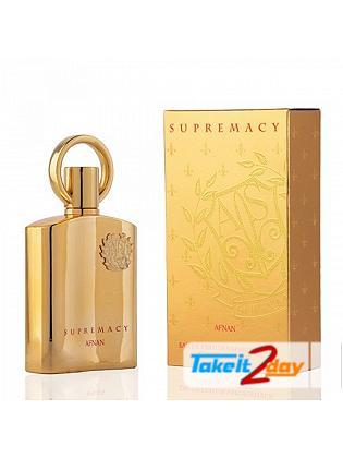 Afnan Supremacy Gold Perfume For Women 100 ML EDP