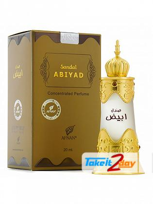 Afnan Sandal Abiyad Perfume For Men And Women 12 ML CPO
