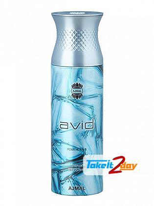Ajmal Avid Deodorant Body Spray For Men And Women 200 ML