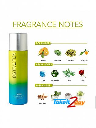 Ajmal Distraction Deodorant Body Spray For Men And Women 200 ML