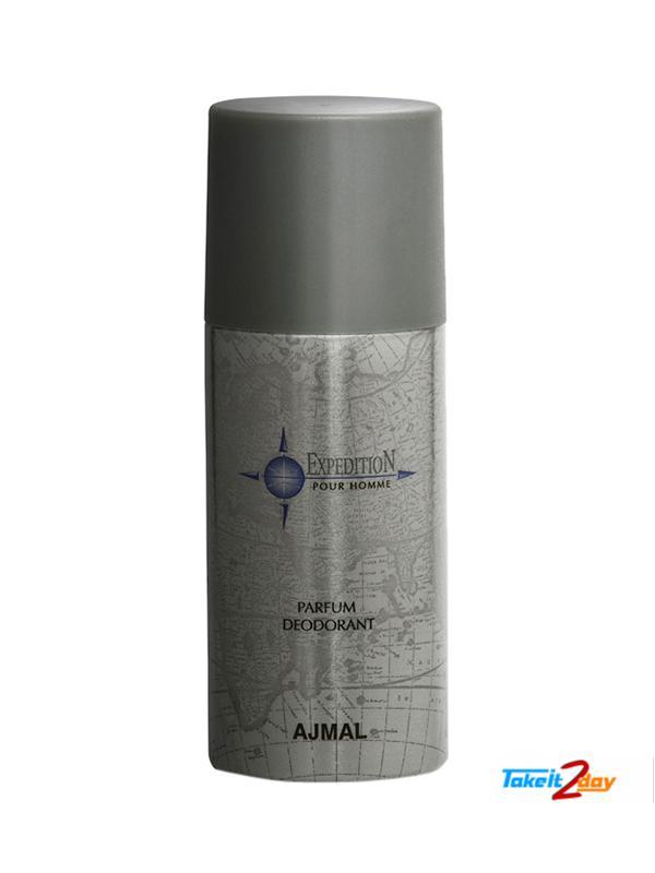 Ajmal Expedition Pour Homme Parfum Deodorant For Men 150 Ml