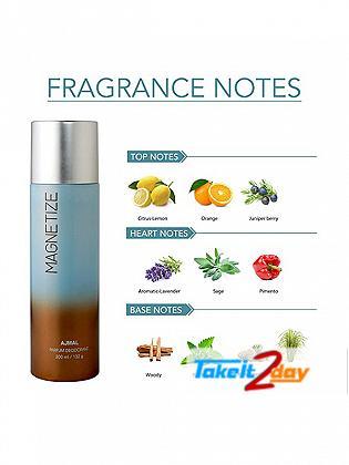 Ajmal Magnetize Deodorant Body Spray For Men And Women 200 ML