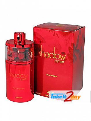 Ajmal Shadow Amor Perfume For Men 75 ML EDP