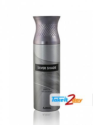 Ajmal Silver Shade Deodorant Body Spray For Men 200 ML
