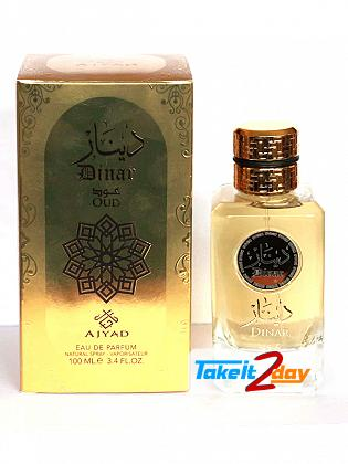 Ajyad Dinar Oud Perfume For Men And Women 100 ML EDP