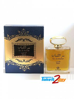 Ajyad Ser Al Shabab Gold Perfume For Men And Women 100 ML EDP