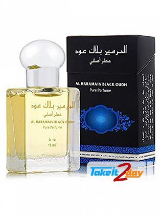 Al Haramain Black Oudh Perfume For Men And Women 15 ML EDP