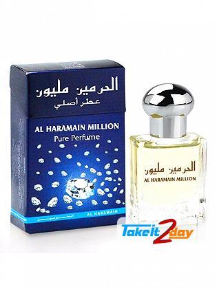 Al Haramain Million Perfume For Men And Women 15 ML EDP