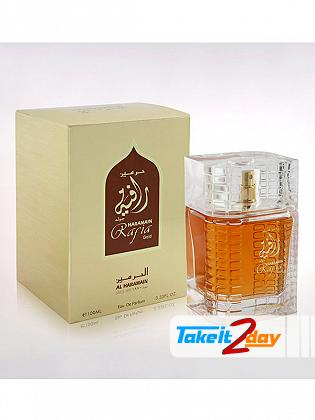 Al Haramain Rafia Gold Perfume For Men And Women 100 ML EDP