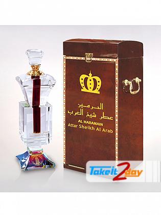 Al Haramain Attar Sheikh Al Arab Perfume For Men 100 ML EDP