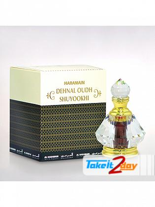 Al Haramain Dehnal Oudh Shuyookhi Perfume For Men And Women 3 ML EDP