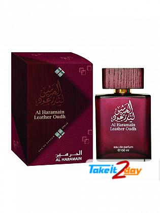 Al Haramain Leather Oudh Perfume For Men And Women 100 ML EDP