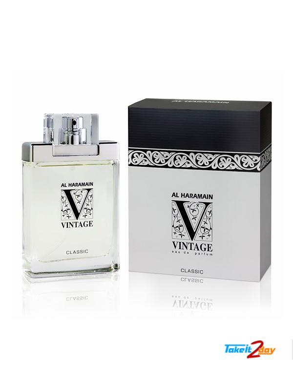 Al Haramain Vintage Classic Perfume For Men 100 ML EDP