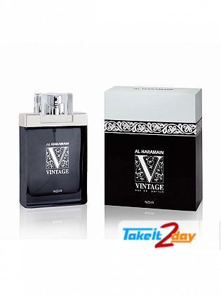 Al Haramain Vintage Noir Perfume For Men 100 ML EDP