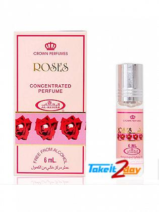 Al Rehab Roses Perfume For Men And Women 6 ML CPO Pack OF Six
