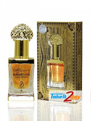 Arabiyat Khasab Oud Gold Edition Perfume For Men And Women 12 ML CPO