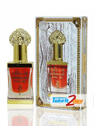 Arabiyat Khashab Oud White Perfume For Men And Women 12 ML CPO