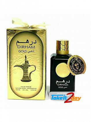 Ard Al Zaafaran Dirham Gold Perfume For Men And Women 100 ML EDP
