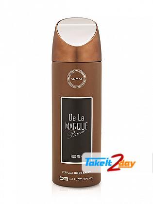 Armaf De La Marque Brune Deodorant Body Spray For Men 200 ML
