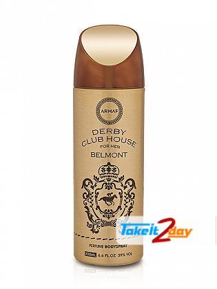 Armaf Derby Club House Belmont Deodorant Body Spray For Men 200 ML