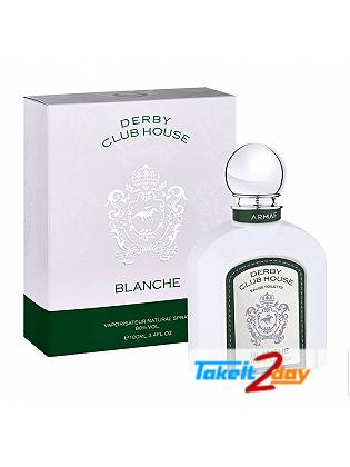Armaf Derby Club House Blanche Perfume For Men 100 ML EDT