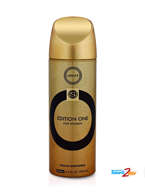 Armaf Edition One Deodorant Body Spray For Women 200 ML (ARED02)