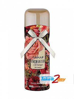 Armaf Enchanted Vintage Deodorant Body Spray For Women 200 ML