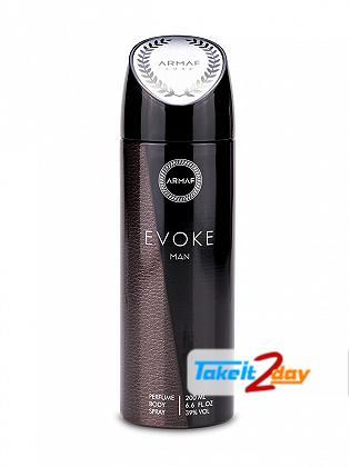 Armaf Evoke Men Deodorant Body Spray For Men 200 ML