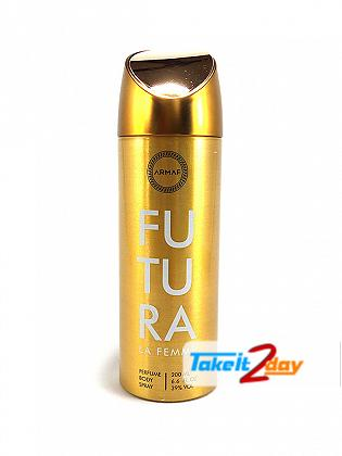 Armaf Futura La Femme Deodorant Body Spray For Women 200 ML