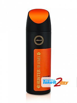 Armaf Hunter For Women Deodorant Body Spray For Women 200 ML