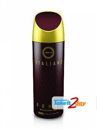 Armaf Italiano Donna Deodorant Body Spray For Women 200 ML