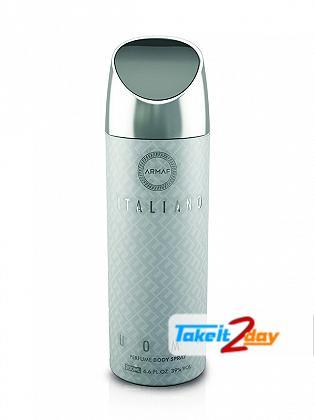 Armaf Italiano Uomo Deodorant Body Spray For Men 200 ML