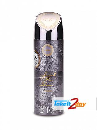 Armaf Just For You Men Deodorant Body Spray For Men 200 ML