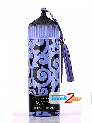 Armaf Marjan Blue Deodorant Body Spray For Women 200 ML